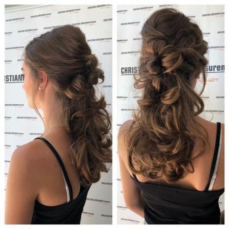 Eine Von Unseren Wunderschönen Abiball Frisuren Friseur